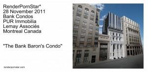 Bank Condos Montreal Canada