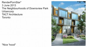 The Neighbourhoods of Downsview Park